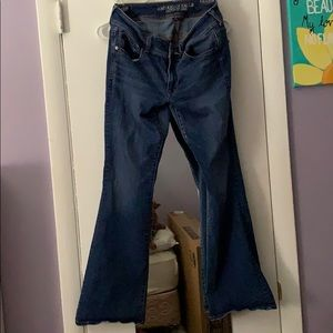⭐️⭐️American Eagle Kick Boot Jeans size 10 short⭐️
